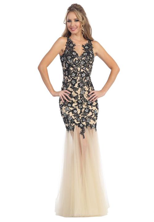 Backless Mermaid Gown